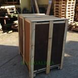 Embalaje de madera con tapa