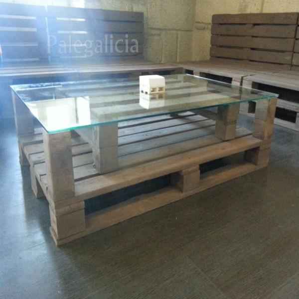 Mesa de palets palegalicia - Mesa de palets bricolaje ...